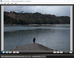 Picture Style Editor Screenshot
