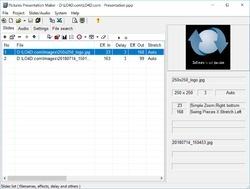 Pictures Presentation Maker Screenshot