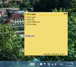 PNotes Screenshot