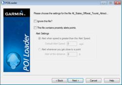 POI Loader Screenshot