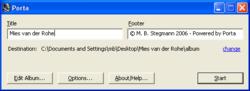 Porta Screenshot