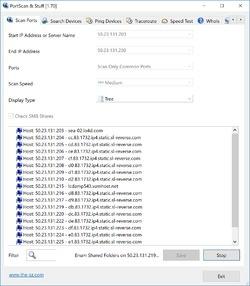 PortScan Screenshot