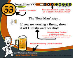 Power Hour VX Computer Drinking Game - Download