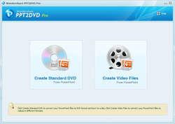 PowerPoint DVD Burner Screenshot