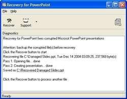 PowerPointRecovery Screenshot