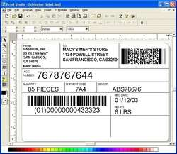 Print Studio Label Maker Screenshot