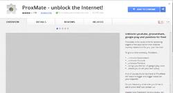 ProxMate for Chrome Screenshot