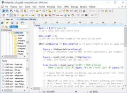 PSPad editor Screenshot