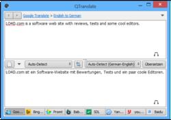 QTranslate Screenshot