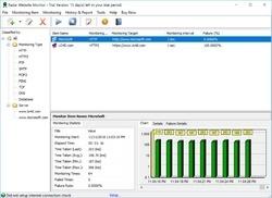 Radar Website Monitor Screenshot