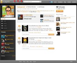Raptr Screenshot