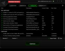 Razer Game Booster Screenshot