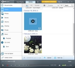 RealPlayer Cloud Screenshot