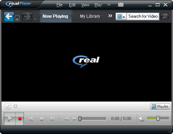 RealPlayer SP Screenshot
