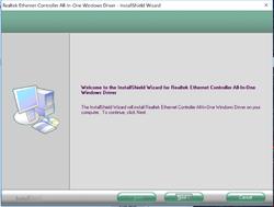 Realtek Ethernet Windows Driver Screenshot