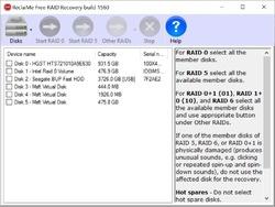 ReclaiMe Free RAID Recovery Screenshot