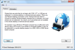 Redirect All RDP Printers Screenshot