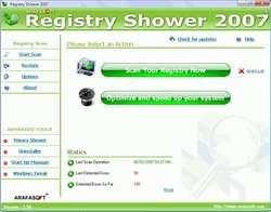 Registry Shower 2008 Screenshot