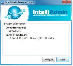 Remote Control Internet Edtion Screenshot
