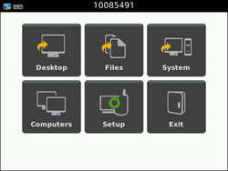 Remote Desktop for Mobiles Screenshot