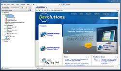 Remote Desktop Manager Free Screenshot