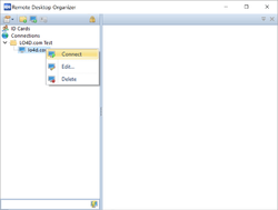 Remote Desktop Organizer Screenshot