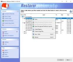 Restorer2000 Data Recovery Screenshot