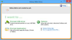 Rohos Mini Drive Screenshot