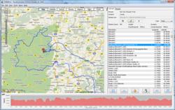 RouteConverter Screenshot