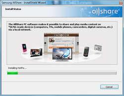 Samsung Allshare Screenshot