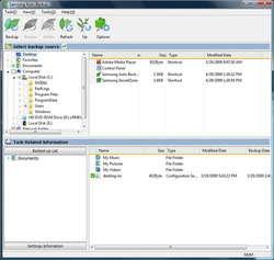 Samsung Auto Backup Screenshot