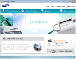 Samsung Dr Printer Screenshot