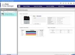 Samsung Easy Printer Manager Screenshot