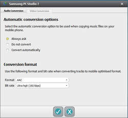 Samsung PC Studio 7 Screenshot