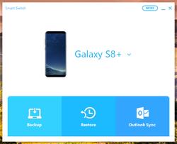 Samsung Smart Switch Screenshot