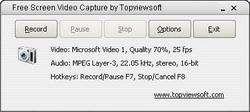 Screen Video Capture Screenshot