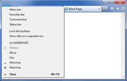 SecuBrowser Screenshot