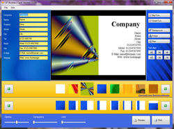 SF-Business Card Screenshot