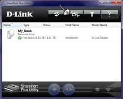 SharePort Plus Screenshot