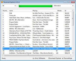 Shoutcast Explorer Screenshot