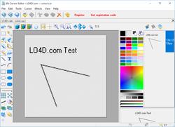 Sib Cursor Editor Screenshot