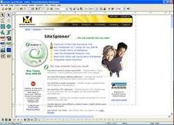 SiteSpinner Screenshot
