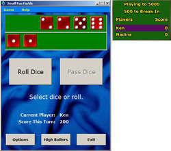 Small Fun Farkle Screenshot