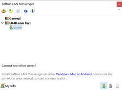Softros LAN Messenger Screenshot