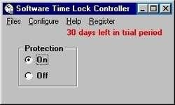Software Time Lock Screenshot