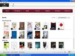 Sony Reader for PC Screenshot