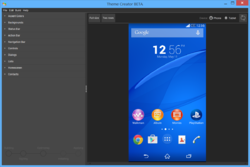 Sony Theme Creator for Xperia Screenshot