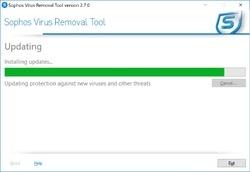 Sophos Anti-Rootkit Software Screenshot