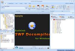 Sothink SWF Decompiler-Flash Decompiler Screenshot