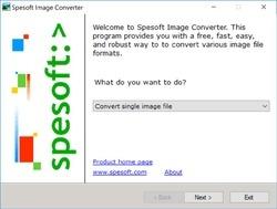 Spesoft Image Converter Screenshot